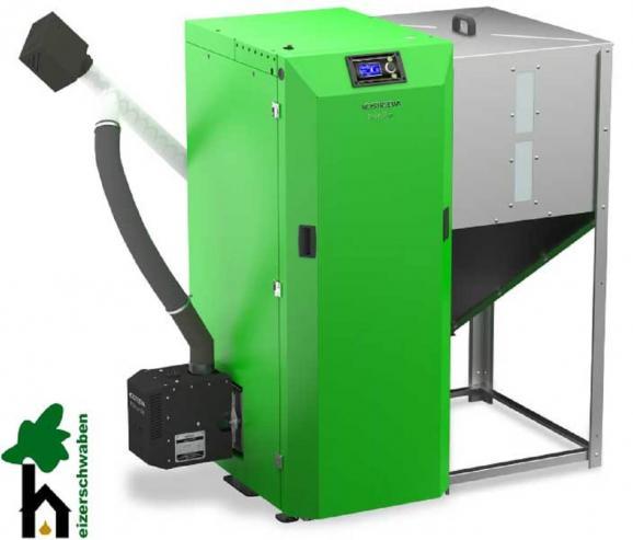 Pelletheizung Twin Bio 12 kW, 16 kW und 24 kW - BAFA förderfähig